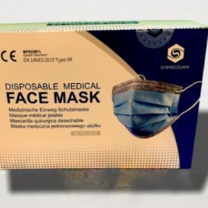 Disposable Face Mask with Biomass-Graphene IIR (FDA) 1 x 50 Stück