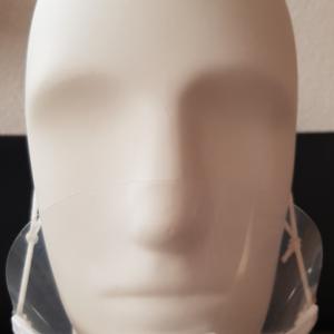 Kunststoff - Maske mit Mund- und Nasenbedeckung