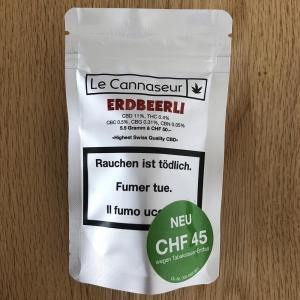 CBD - ERDBEERLI - 5.5 g
